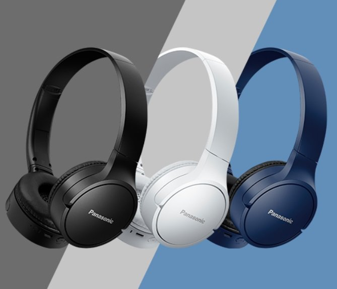 Słuchawki nauszne PANASONIC RB-HF420BE-K Kolory