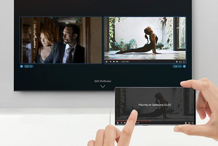 SAMSUNG QLED QE75Q90T TV - Multi View