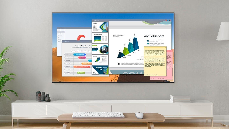 SAMSUNG QLED QE75Q90T TV - Удаленный доступ