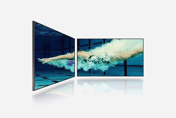 SAMSUNG QLED QE75Q90T TV - сверхширокий угол обзора