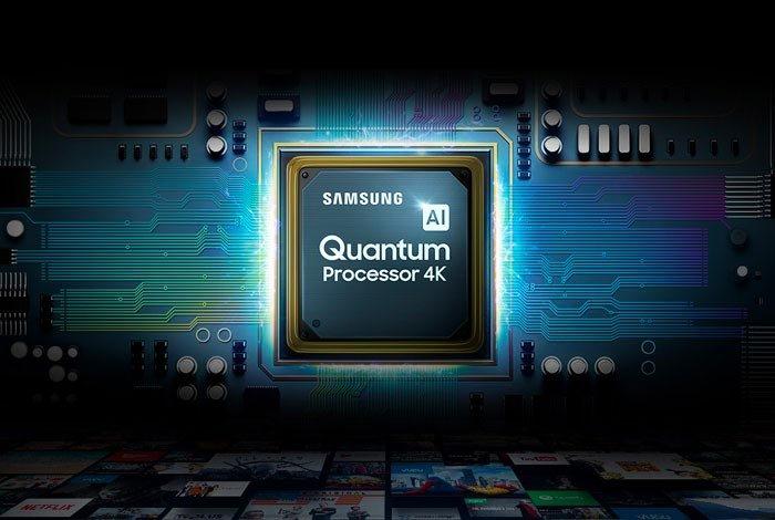 SAMSUNG QLED QE75Q90T TV - Процессор