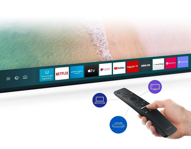 SAMSUNG QLED QE75Q90T TV - Пульт дистанционного управления