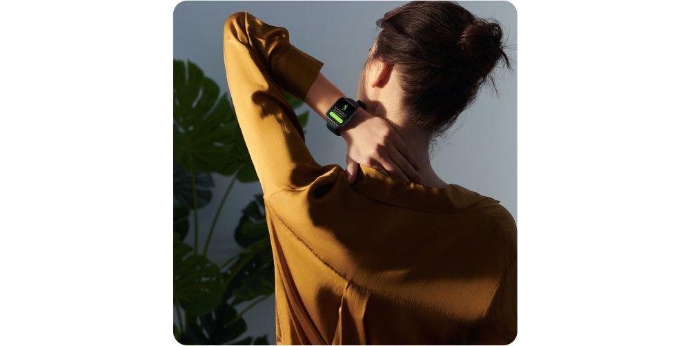 Smartwatch OPPO Watch 41mm ekran wyświetlacz kolory nawigacja dotykowy obsługa menu