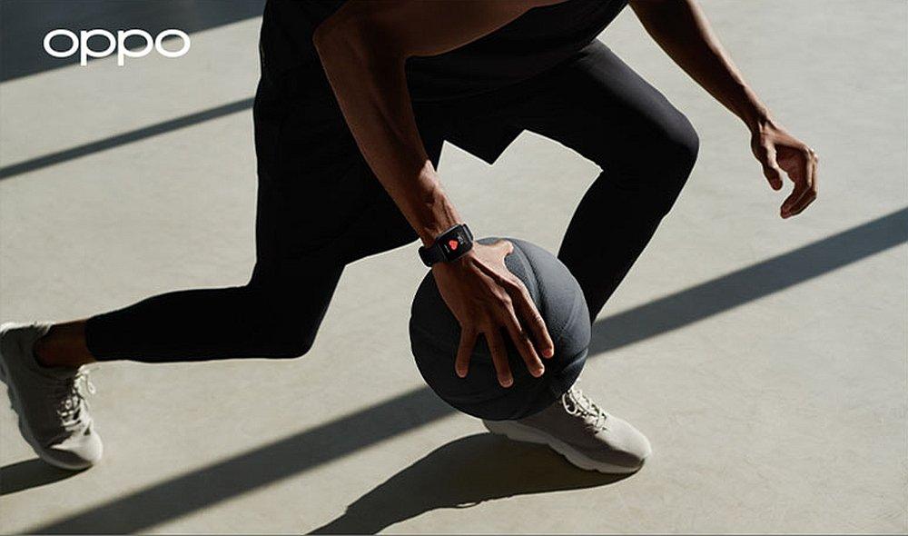 Smartwatch OPPO Watch 41mm sport ćwcizenia tętno trening