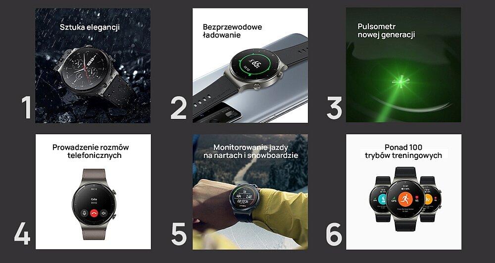 Smartwatch HUAWEI Watch GT 2 Pro opis cechy funkcje parametry specyfikacja