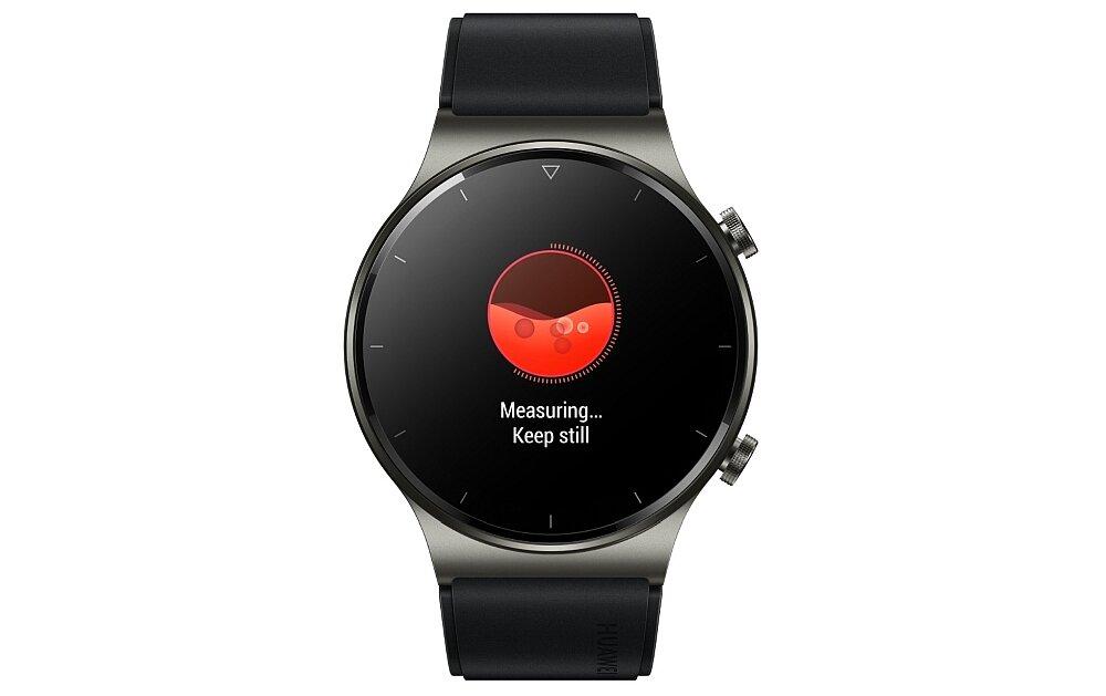 Smartwatch HUAWEI Watch GT 2 Pro monitoring kalorie krokomierz puls monitor snu