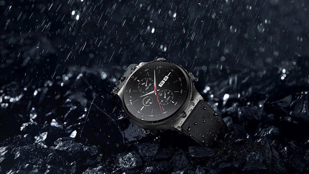 Smartwatch HUAWEI Watch GT 2 Pro odporność obudowa wodoszczelność certyfikat