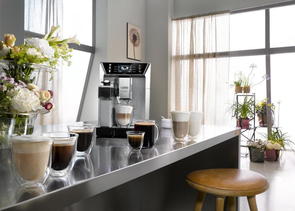 Кофемашина DELONGHI PrimaDonna Class ECAM 550.85.MS вспениватель молока с системой lattecrema