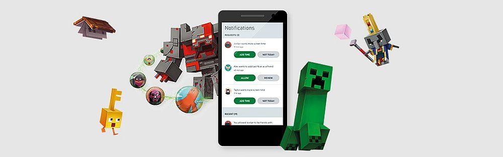 Консольное приложение MICROSOFT XBOX Series S, присмотр за детьми