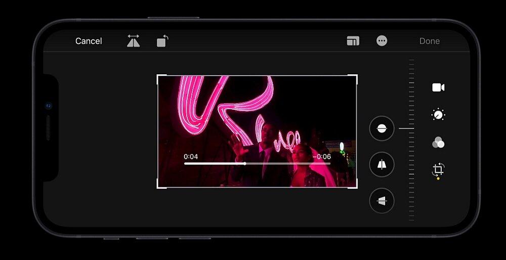 Smartfon Apple Iphone 12 4k filmy nagrywanie