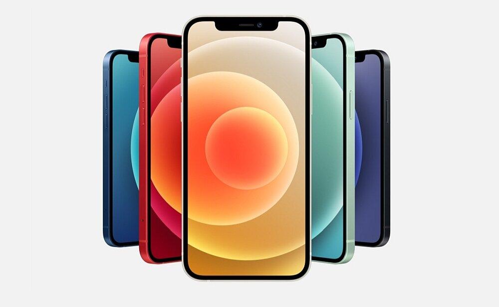 Smartfon Apple Iphone 12 bezpieczny blokady hasła face id