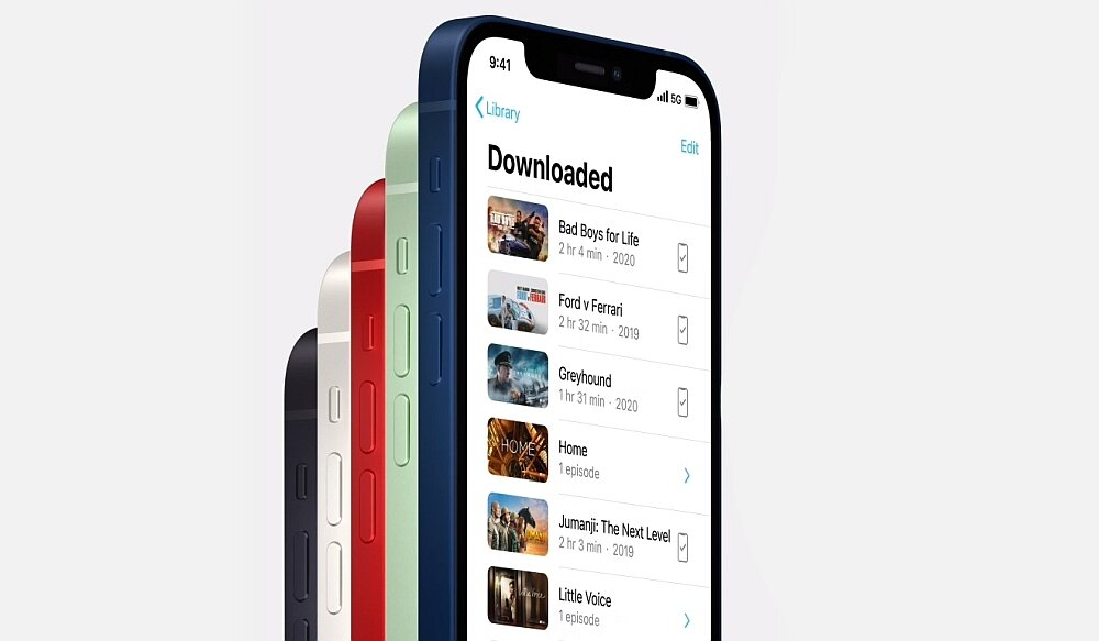 Smartfon Apple Iphone 12 łączność sieć 5g internet