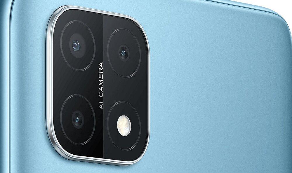 Smartfon OPPO A15 aparaty