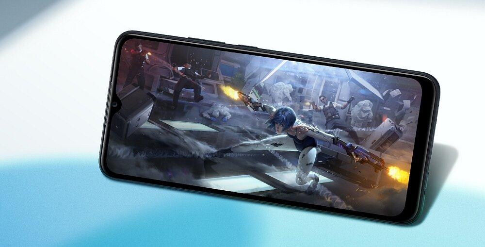Smartfon OPPO A15 ekran