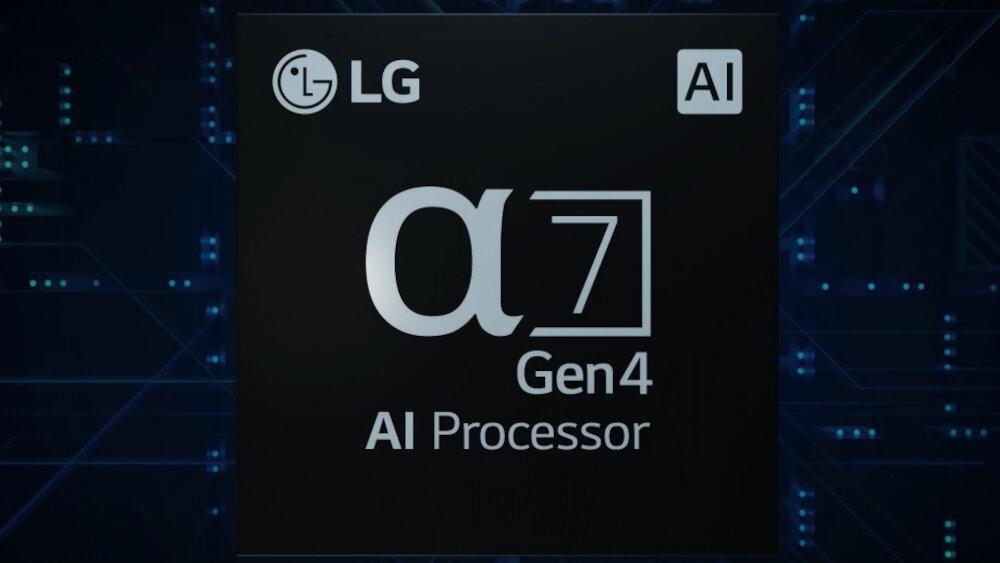 Телевізор LG OLED A13 - процесор