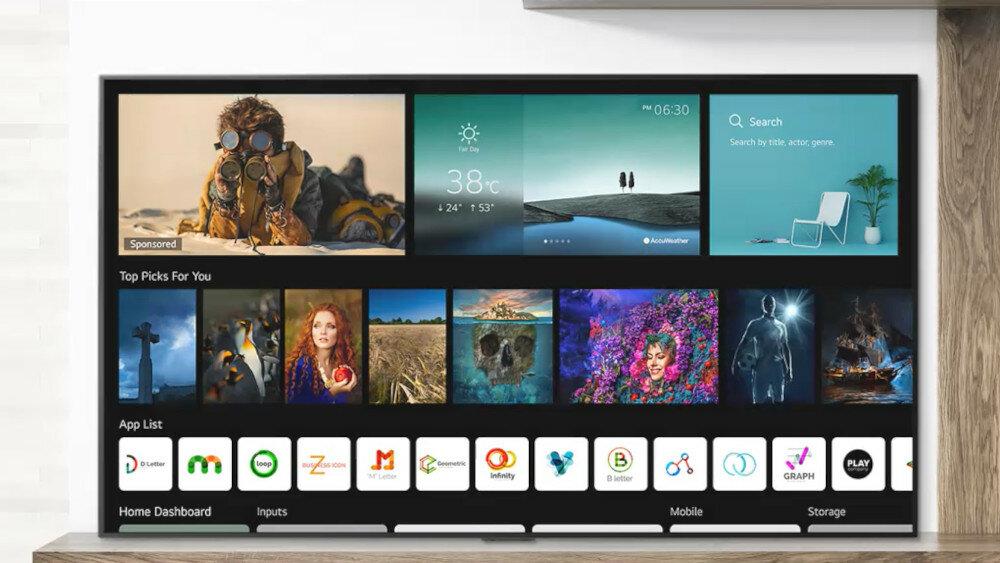 Телевізор LG OLED A13 - розумні функції