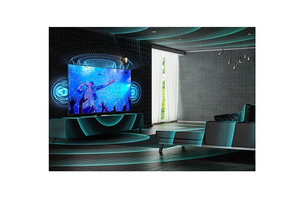 SAMSUNG LED TV QE85QN85A Оптимизация звука под тип помещения