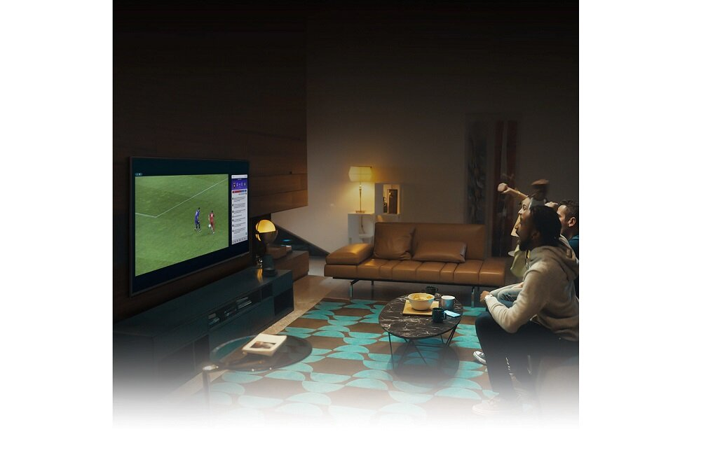 SAMSUNG LED TV QE85QN85A Multi View Подключите телефон к телевизору
