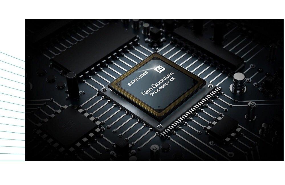 SAMSUNG LED TV QE85QN85A 4k AI процессор реалистичное изображение