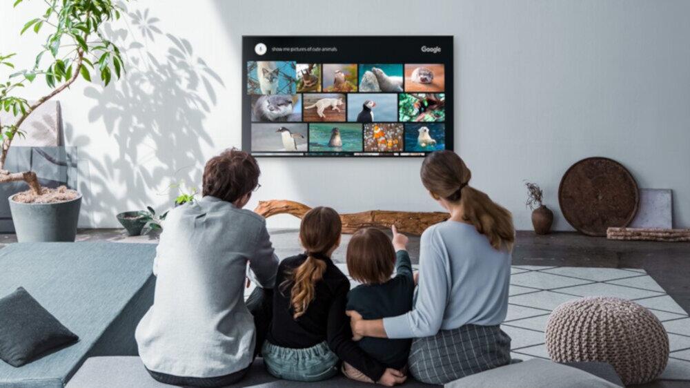 Телевізор SONY LED X90J - андроїд