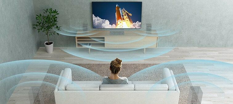 Телевізор SONY LED X90J - Dolby Atmos