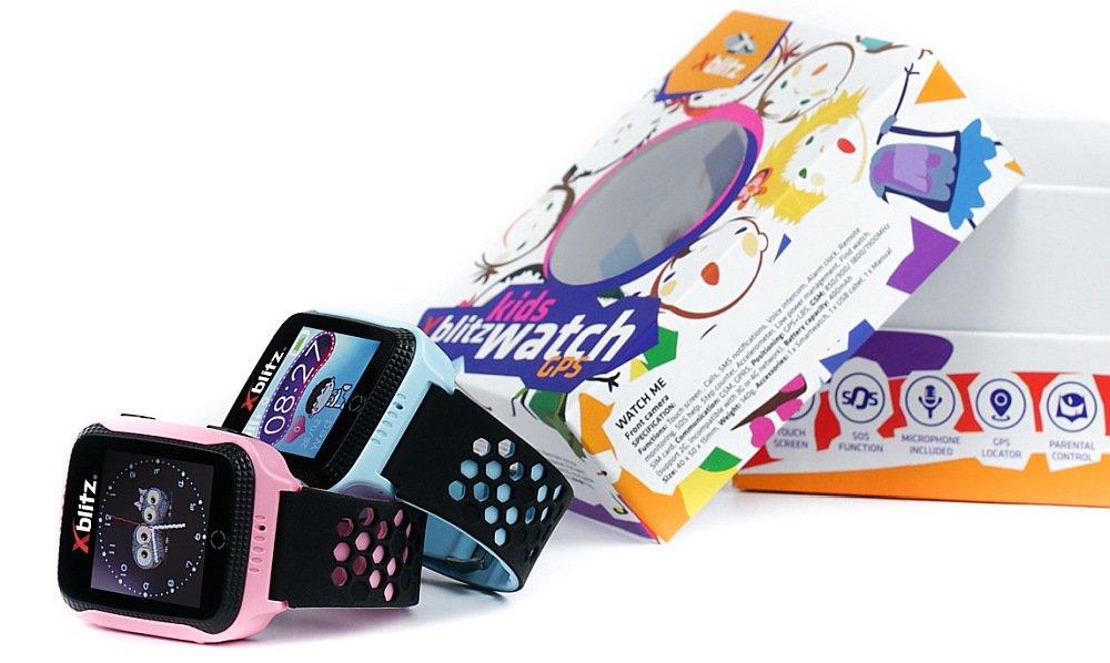 Smartwatch XBLITZ Kids Watch GPS Watch Me opis funkcje sim