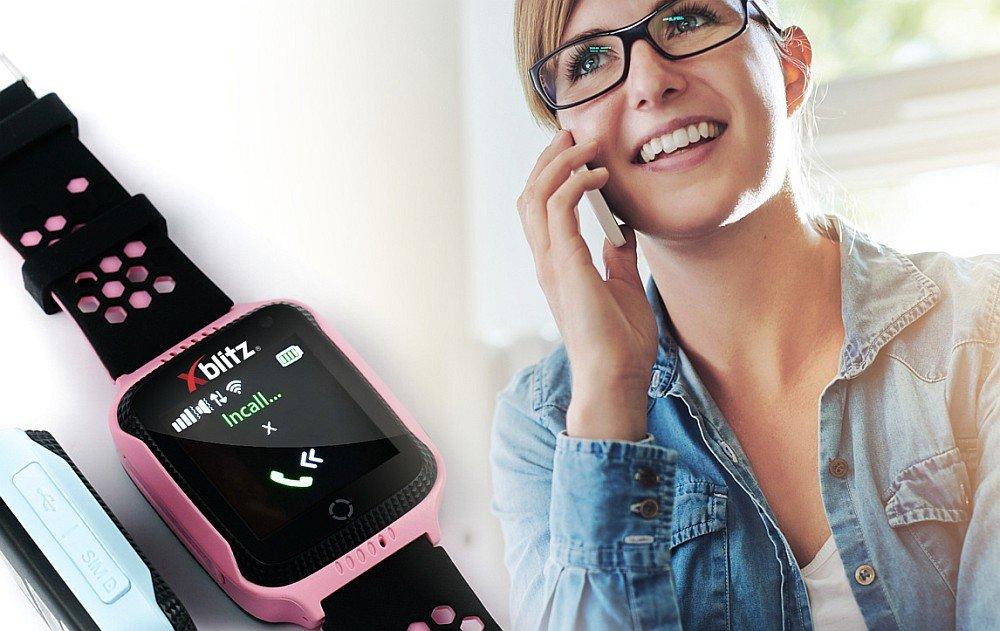Smartwatch XBLITZ Kids Watch GPS Watch Me funkcje dzwonienie telefon