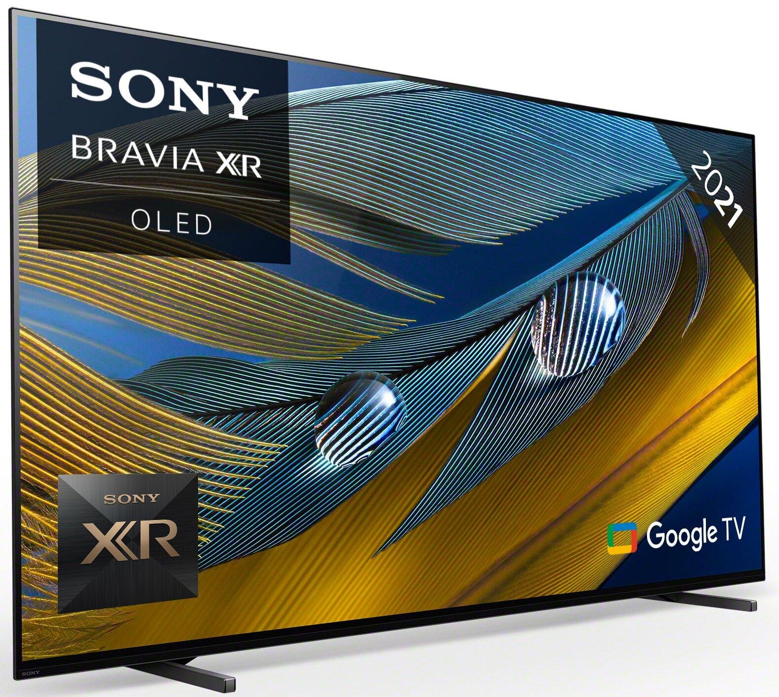 "Telewizor SONY XR65A80JAEP 65"" OLED 4K 100Hz Android TV Dolby Atmos HDMI 2.1 Nowość 2021"
