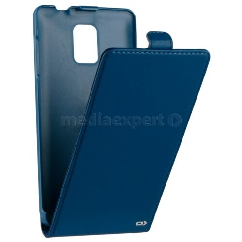 Etui OXO Flap Case do Samsung Galaxy Note 4 Niebieski